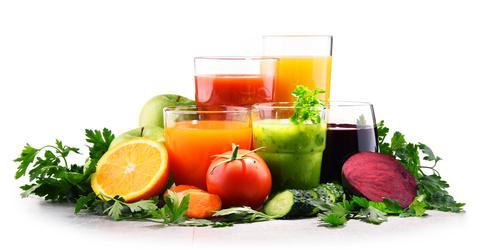 les jus de fruits et de légumes