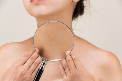 retendre la peau du cou