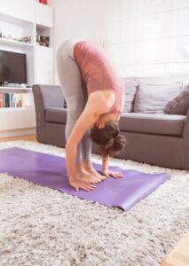 le yoga a la maison