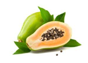 peeling à la papaye