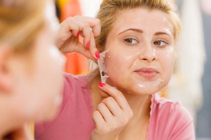peeling visage maison