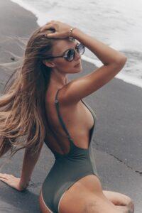 soin des cheveux à la plage
