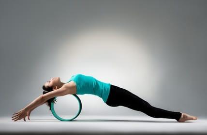 roue de yoga et pilates BK