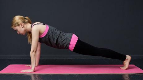 posture de la planche